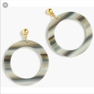 JCrew Circle Earrings